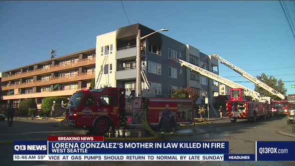 Mother-in-law of City Council President M. Lorena González dies after West Seattle condo fire