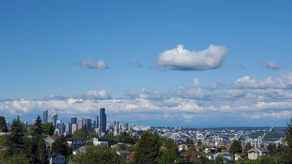 Rain, rain gone away: Seattle has 4th driest start to spring so far