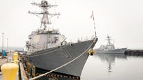 Navy destroyer causes oil spill in Port Townsend Bay