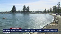 Man dies after rescue attempt on Lake Tapps