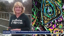 Police search for the killer of local artist