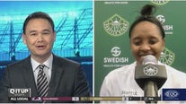 """Noelle Quinn reflects on first week as Storm head coach on """"Q It Up Sports"""""""