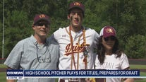 Local high school pitcher plays for titles, prepares for draft