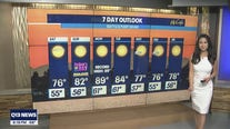 Warm temps for Father's Day weekend