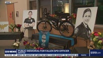 Public memorial for Seattle Police officer killed on I-5