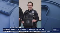 Man arrested for allegedly stealing SPD officer's car