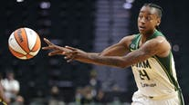 Jewell Loyd hits 3 at buzzer, Storm beat Wings 105-102 in OT