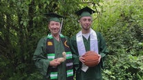 Father and son share unique bond, graduating from Evergreen State College together