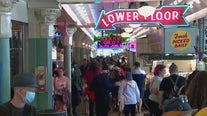 Downtown Seattle booming with visitors on first day of Washington state's full reopening