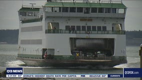 Seattle-Bremerton ferry route down to one boat