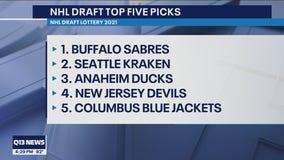 Seattle Kraken get 2nd pick in 2021 NHL Draft