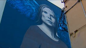 Rise and Shine: Inspiring story of woman behind 'larger than life' mural