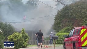 'It was the right thing to do:' Mom driving past burning Puyallup home helps man escape