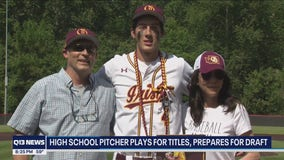 'Q it Up Sports:' Recent high school grad plays for titles, prepares for MLB draft