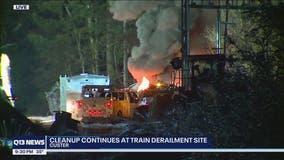NTSB releases report on Washington oil-train derailment, fire in Custer