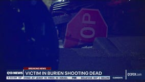 Burien Police: Man shot in car with 2-year-old inside dies