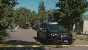 Police: Gunshot victim crashes car into home in Burien