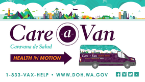 State launches mobile 'Care-A-Van' to deliver vaccines to Washington counties