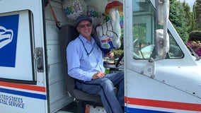 Port Angeles neighbors bring special delivery to 21-year postal carrier on final day of route