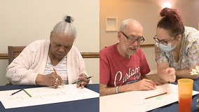 Wisconsin senior living home's postcard project to spread joy