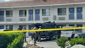 Deputies arrest rape suspect after standoff at Everett Motel 6
