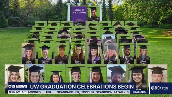 UW graduation goes virtual for 2021