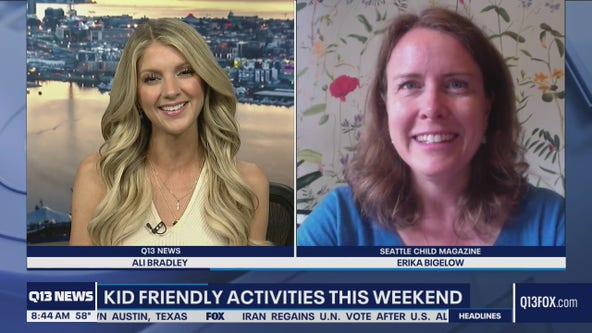 Kid friendly activities this weekend in the Emerald City