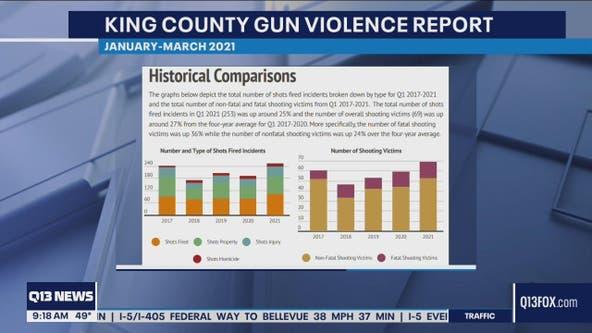 King County Council proposes $1.4M budget amendment to curb gun violence