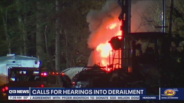 Lawmaker calls for hearings in Whatcom County train derailment