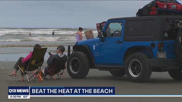 Washington coastal hotels packed as region seeks shelter from excessive heat