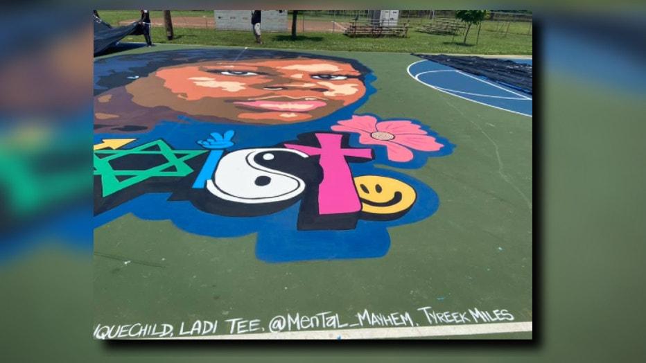 Breonna Taylor mural Lousiville (1)