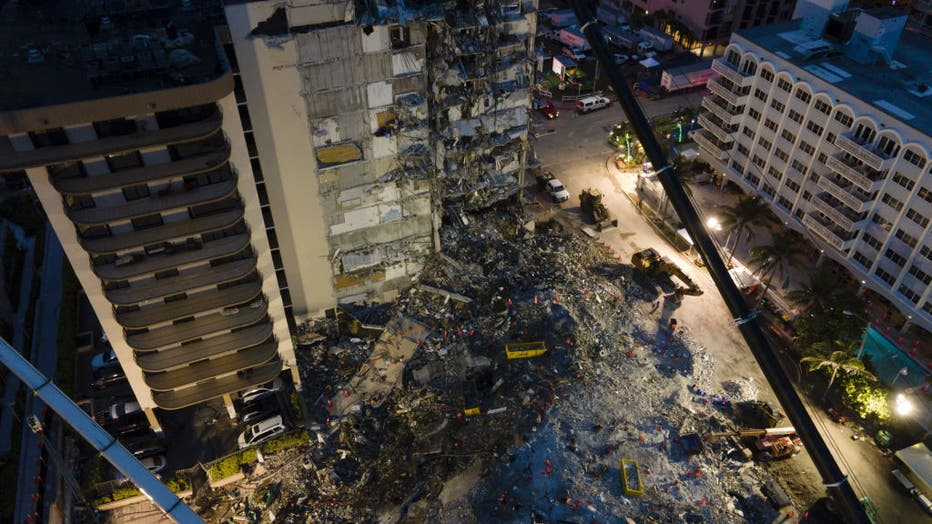 'Officials call for more Federal help in Search-And-Rescue Mission on Surfside collapse'