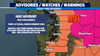 Weather Alert Day: Heat Advisory issued through Saturday