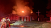 Fire rips through New Hope Church in Tacoma
