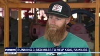 Mariners staffer running 3,650 miles to help families in need
