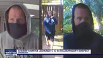 Video shows serial home burglary suspect wanted in Shoreline