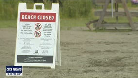 Popular King County beaches closed for holiday weekend due to high bacteria levels in water