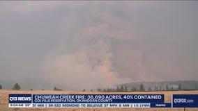 Wildfires in Washington continue