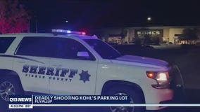 Gunman accused of killing a man in a Puyallup parking lot still on the loose