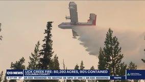 Wildfires continue burning across Washington state