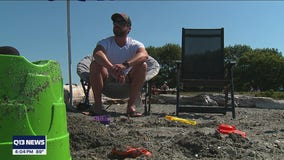 Beach in Edmonds helps visitors beat the heat and maintain distance amid COVID Delta variant concerns