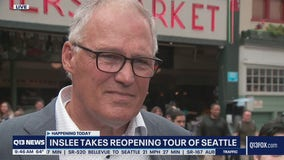 Inslee takes reopening tour of Seattle