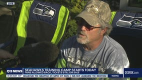 First day of Seahawks Training Camp 2021