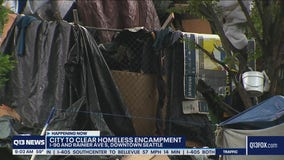 Authorities clearing homeless encampment along I-90 in Seattle