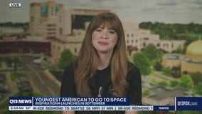 Pediatric cancer survivor to become youngest American in space