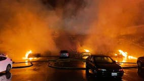 Arson investigation now underway in SeaTac apartment building fire
