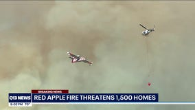 County Sheriffs obtain search warrant for a home where the Red Apple Fire is believed to have started.