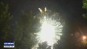No official city fireworks display in Tacoma, but Rainiers still put on a show