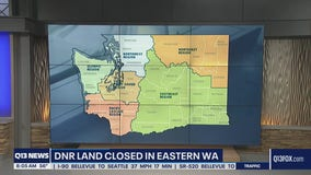 Wildfire update: new evacuation orders and DNR land close in Eastern Washington