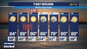 Q13 News Weather Alert Day issued for Friday